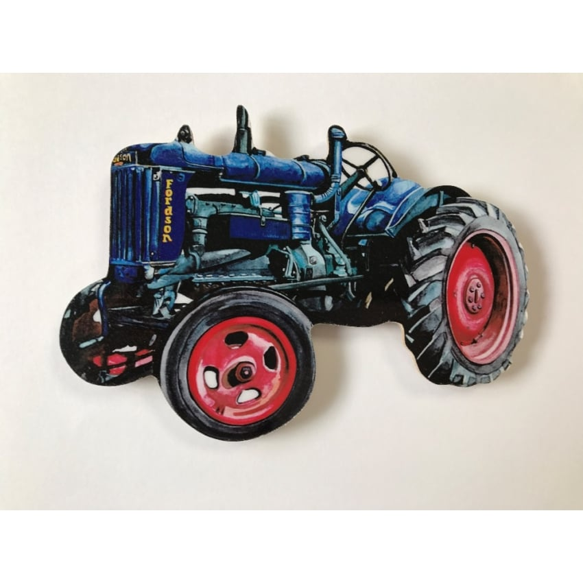 Lark Designs Fordson Cut Out Jumbo Fridge Magnet