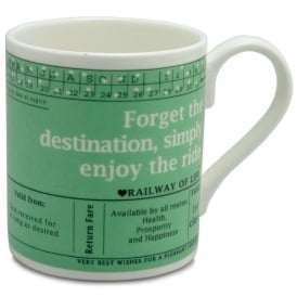 McLaggan Smith Forget The Destination Large Mug