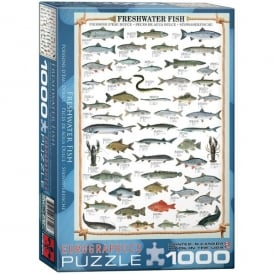 EuroGraphics Freshwater Fish Jigsaw - 1000 Pieces