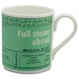McLaggan Smith Full Steam Ahead Large Mug