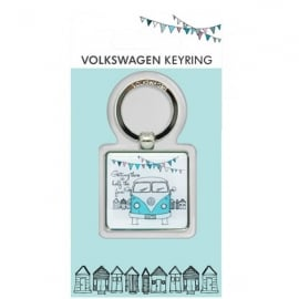 Elgate Getting There VW Campervan Keyring