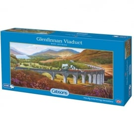 Gibsons Glenfinnan Viaduct Jigsaw - 636 Pieces