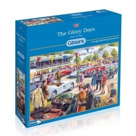 Gibsons Glory Days Jigsaw (1000 Pieces)