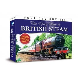 Demand Media Glory Days Of British Steam 4 x DVD Gift Set