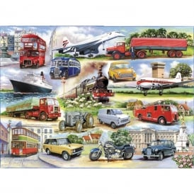 House Of Puzzles Golden Oldies Jigsaw (1000 pieces)