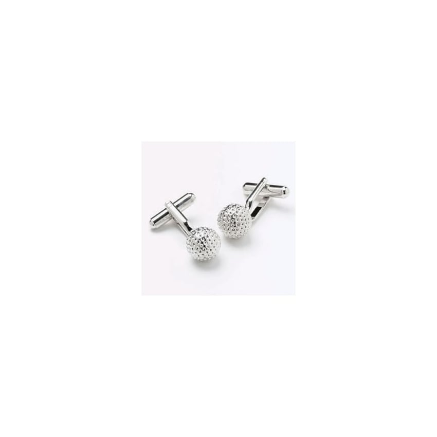 Onyx-Art Golf Ball Cufflinks
