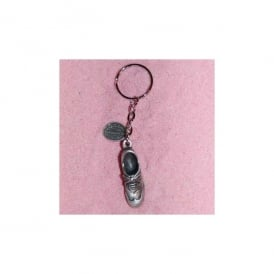David Hindwood Golf Shoe Pewter Keyring
