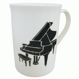Music Gifts Company Grand Piano Bone China Mug
