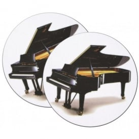 Music Gifts Company Grand Piano Mug Coasters - Twin pack