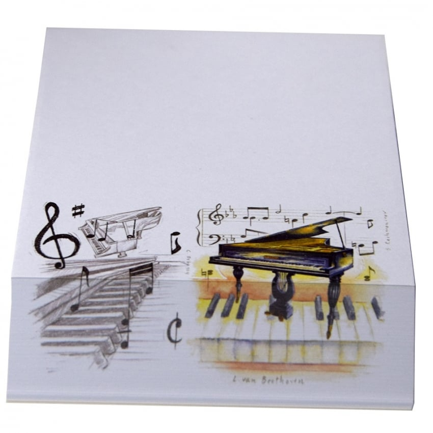 Little Snoring Grand Piano Slant Pad