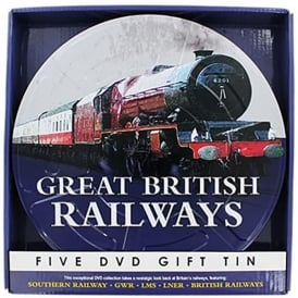 Demand Media Great British Railways 5 x DVD Tin Gift Set
