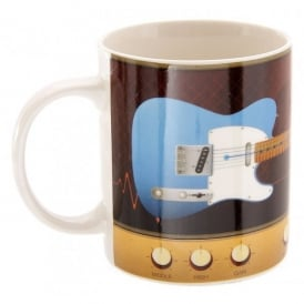 Puckator Guitar and Amp Ted Smith Mug - Blue