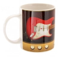 Puckator Guitar and Amp Ted Smith Mug - Red