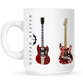 Pyramid Guitar Heaven Ceramic Mug