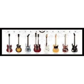 Pyramid Guitar Heaven Slim Poster