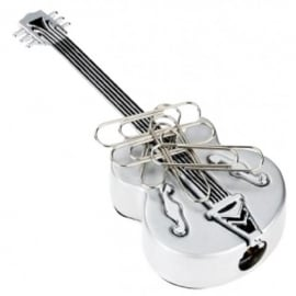 Orchid Designs Guitar Pencil Sharpner / Paper Clip Holder