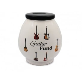 Leonardo Guitar Themed Money Pot