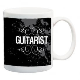 Pyramid Guitarist Ceramic Mug