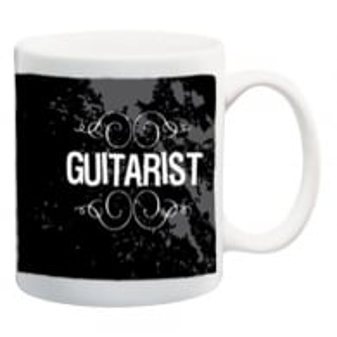 Pyramid Guitarist Ceramic Mug