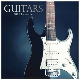 Gifted Stationery Guitars Calendar 2017