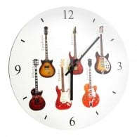Leonardo Guitars Wall Clock