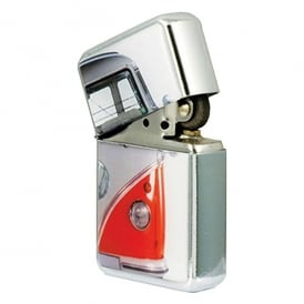 Elgate Half Red VW Campervan Windproof Lighter