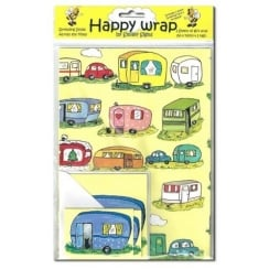 Padblocks Happy Wrap Caravan Giftwrap Pack