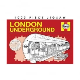 Demand Media Haynes London Underground Jigsaw -1000 Pieces