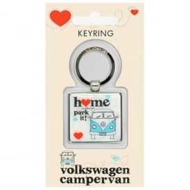 Elgate Home is Where You Park It VW Campervan Keyring