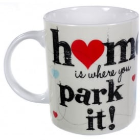 Elgate Home is Where You Park It VW Campervan Mug