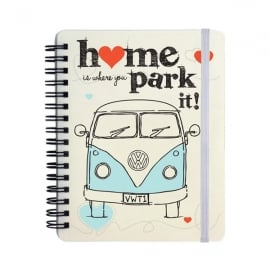 Elgate Home is Where You Park It VW Campervan Notepad