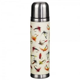Wild & Wolfe Hook Line & Sinker Flask in Cream