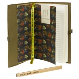 Wild & Wolfe Hook Line & Sinker Notebook & Pencil