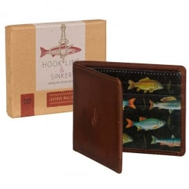 Wild & Wolfe Hook Line & Sinker Premium Leather Wallet