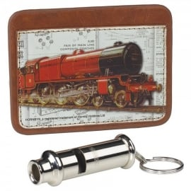 Wild & Wolfe Hornby Card Holder & Whistle Keyring