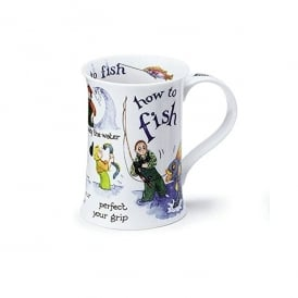Dunoon How To Fish Cotswold China Mug
