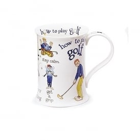 Dunoon How To Play Golf Cotswold China Mug