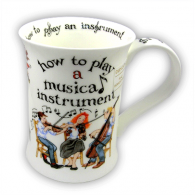 Dunoon How To Play Music Cotswold China Mug