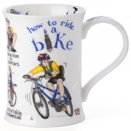 Dunoon How To Ride a Bike Cotswold China Mug