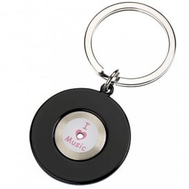 Orchid Designs I Love Vinyl Music Keyring