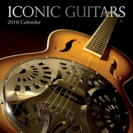 Gifted Stationery Iconic Guitars 2018