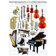 EuroGraphics Instruments Of The Orchestra Jigsaw (1000 Pieces)