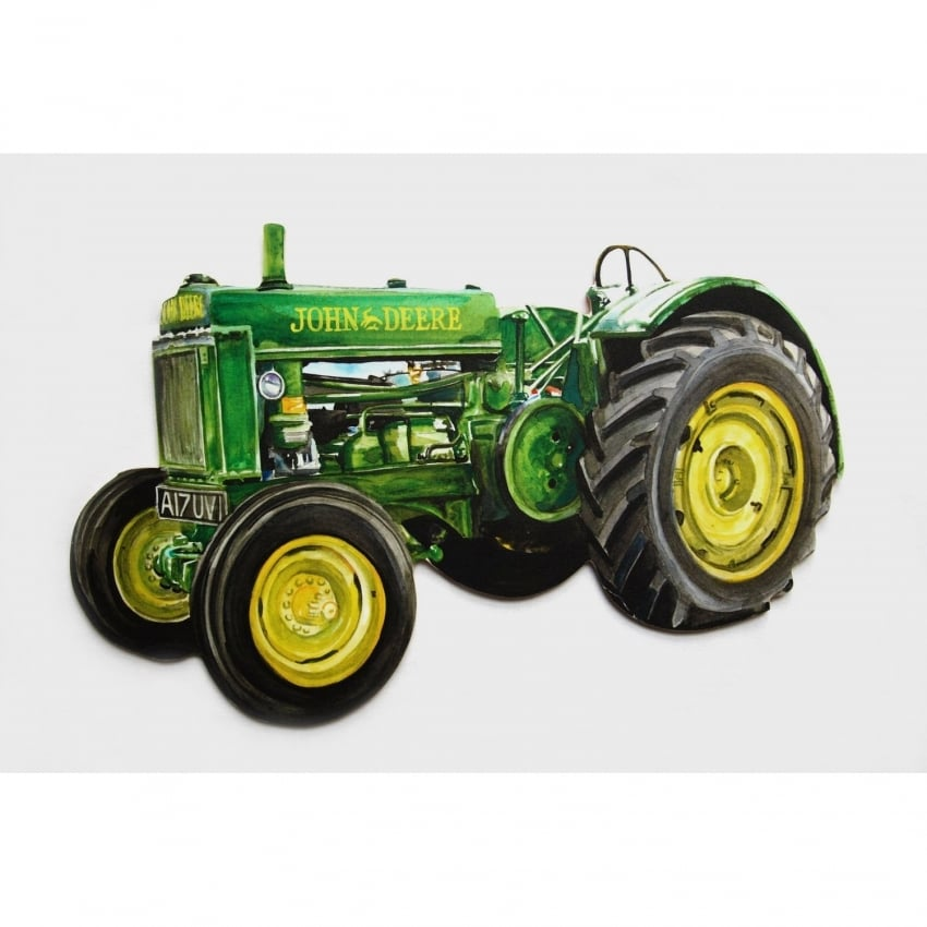 Lark Designs John Deere Cut Out Jumbo Fridge Magnet