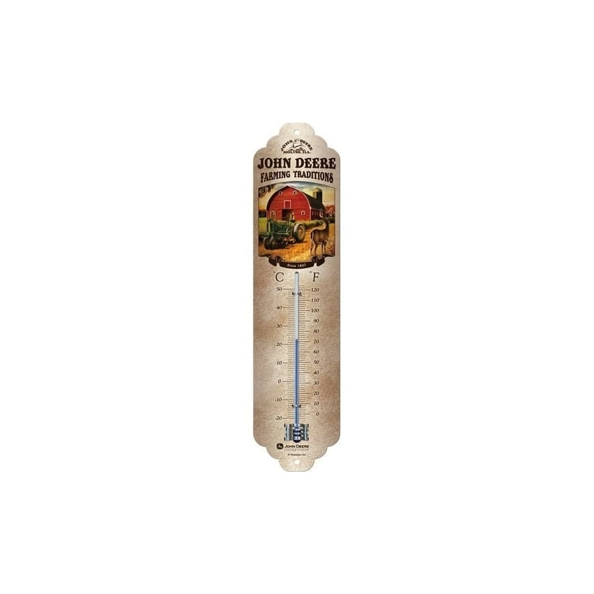 Casa Grande John Deere Farming Traditions Thermometer