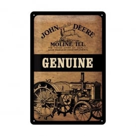 Casa Grande John Deere Genuine Moline. ILL Tin Sign