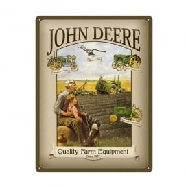 Casa Grande John Deere Quality Equipment Large Tin Sign