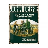 Casa Grande John Deere Used Here Large Tin Sign