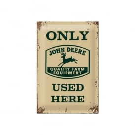 Casa Grande John Deere Used Here Tin Sign