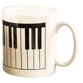 Music Gifts Company Keyboard Earthenware Mug