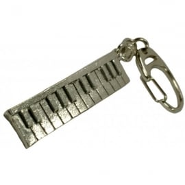 Music Gifts Company Keyboard Pewter Keyring